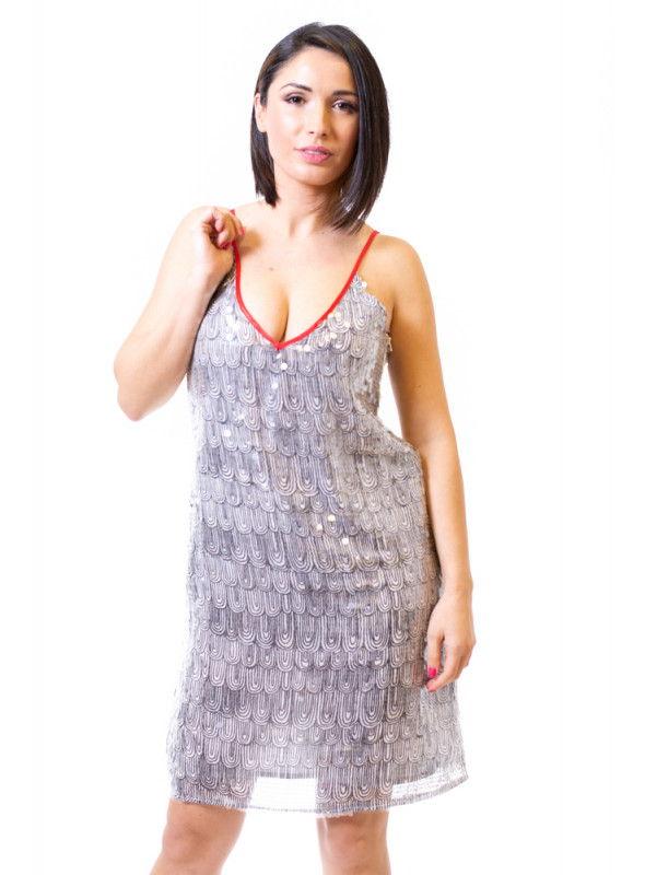 Kontessa Vestido pailletes