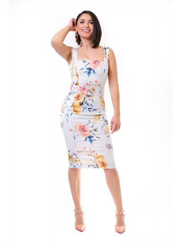 55e103ff Acces Vestido Estampado Flores