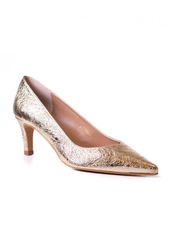 Linea Kosta Zapato Textura Dorado