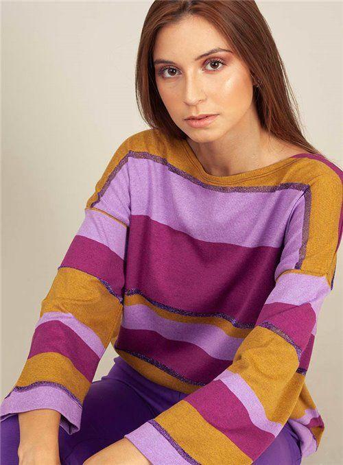 Malena Jersey rayas multicolor