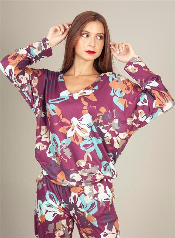 Malena Camiseta Estampado Flores
