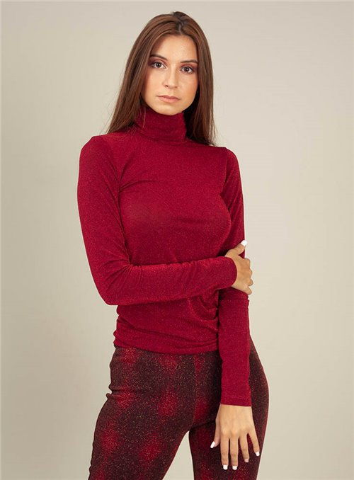 Otto d ame Jersey Lame Rojo