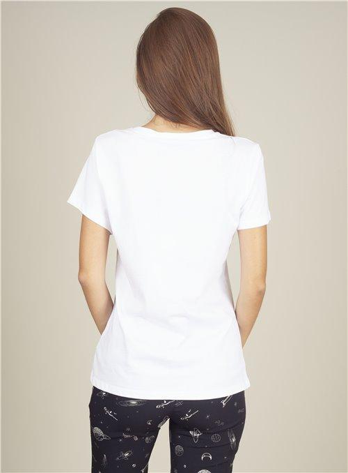 Almagores Camiseta Blanca Wild