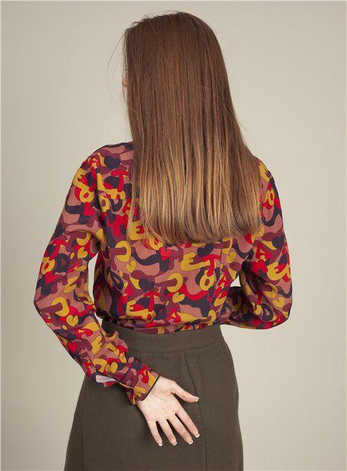 Otto d ame Camisa Estampada Multicolor