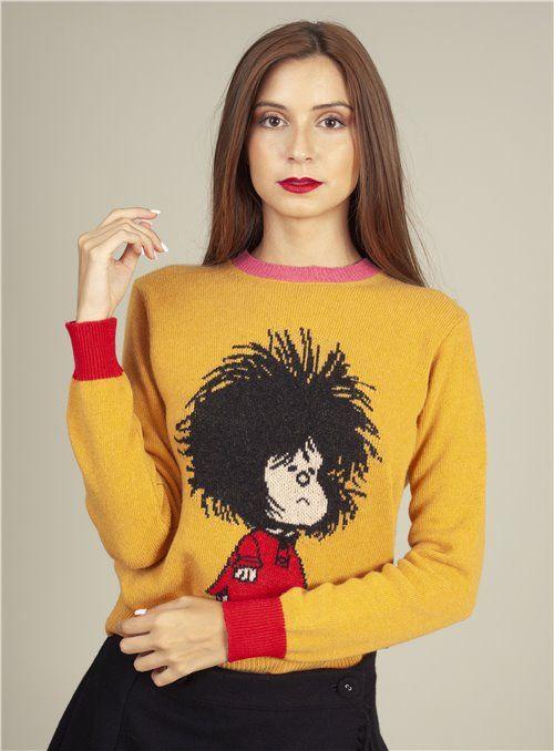 Otto d ame Jersey Mostaza Mafalda