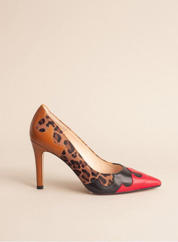 Lodi Salón Print Leopardo Combinado Colores