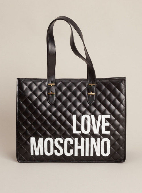 Moschino Love bolsos Bolso shopping negro