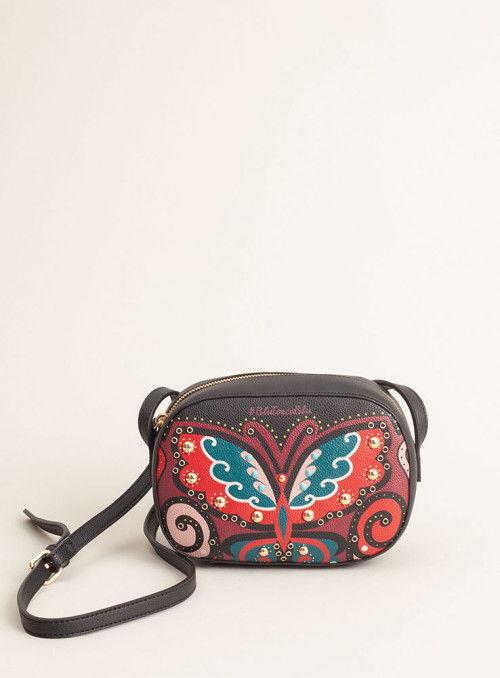 Tosca Blu Bolso bandolera estampado mariposa
