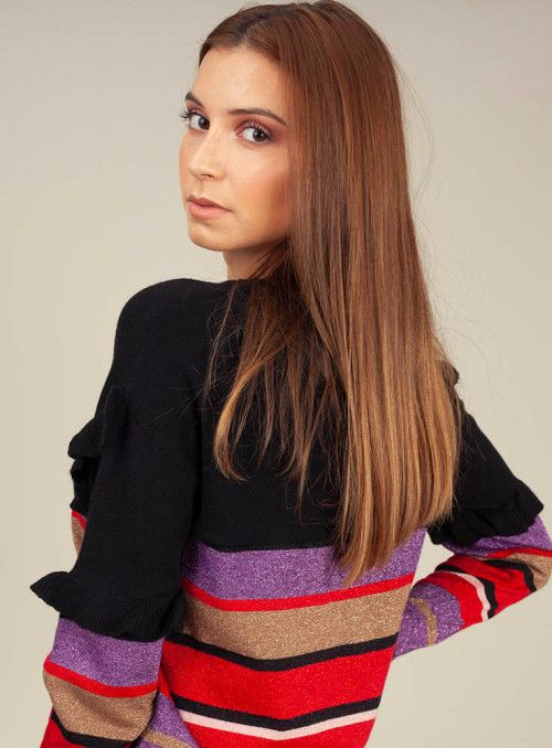 Cristina Effe Jersey Rayas Multicolor