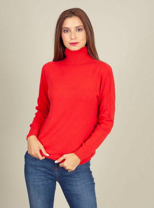 Cristina Effe Jersey punto rojo
