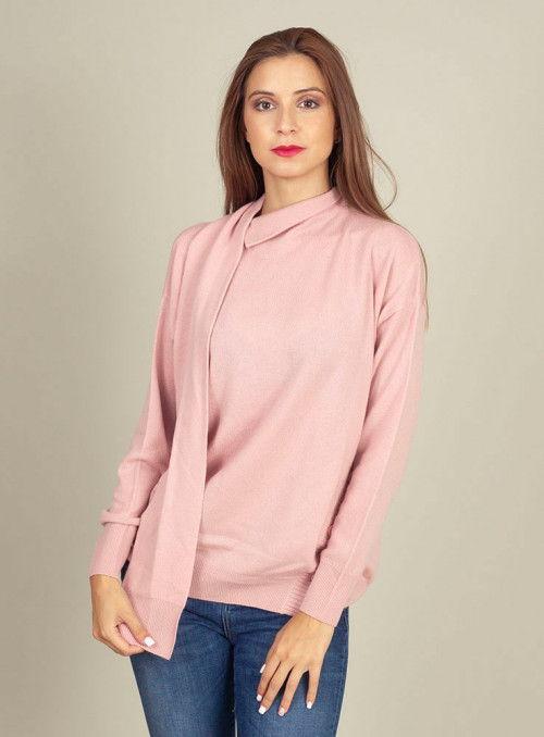 Pinko Jersey Cachemir rosa