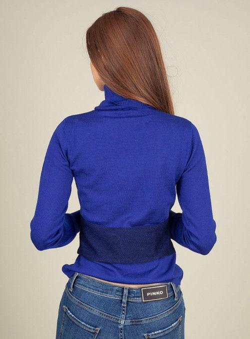 Pinko Jersey Punto Azulón