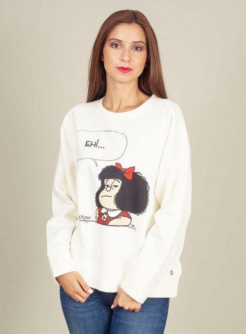 Otto d ame Sudadera Estampado Mafalda