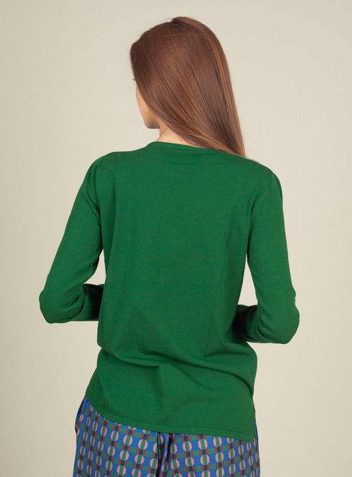 Pisonero Jersey Punto Nudo verde