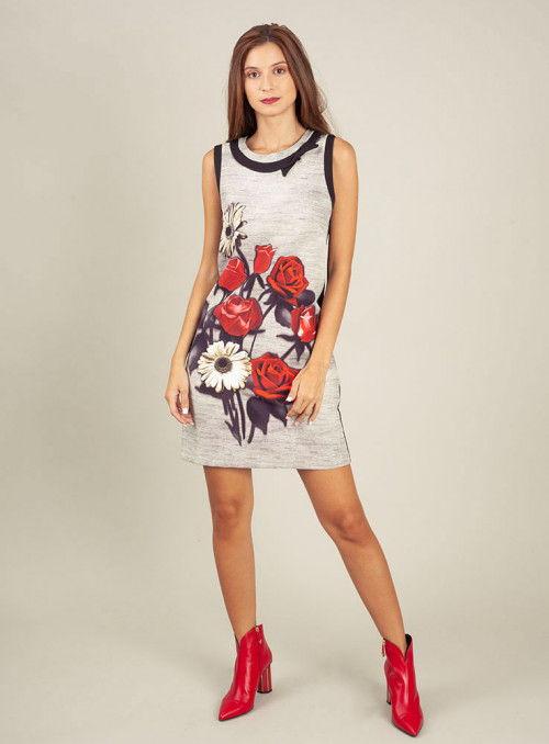 Rinascimento Vestido combinado flores