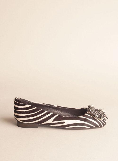 Alma en Pena Zapato print cebra