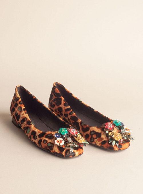 Alma en Pena Zapato print leopardo