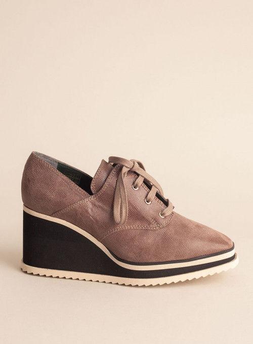 VOSSO Zapato Abotinado Moka