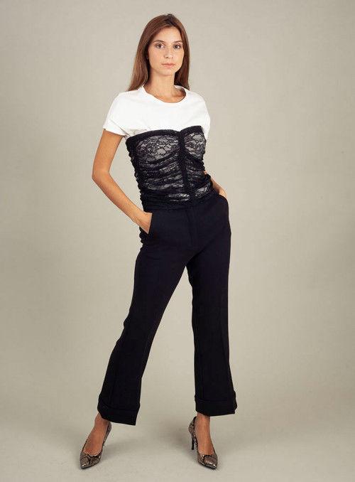 Pinko Pantalón negro recto