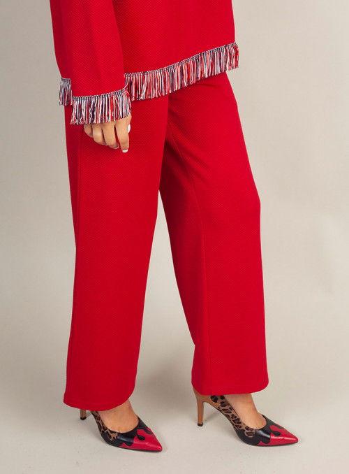 Malena Pantalón rojo