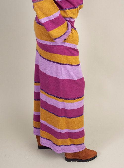 Malena Falda Rayas Multicolor