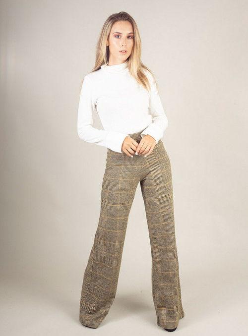 BSB Pantalón estampado cuadros