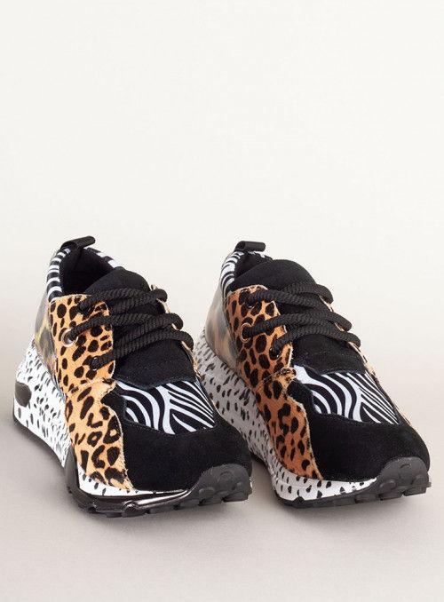 Steve Madden Sneaker zebra