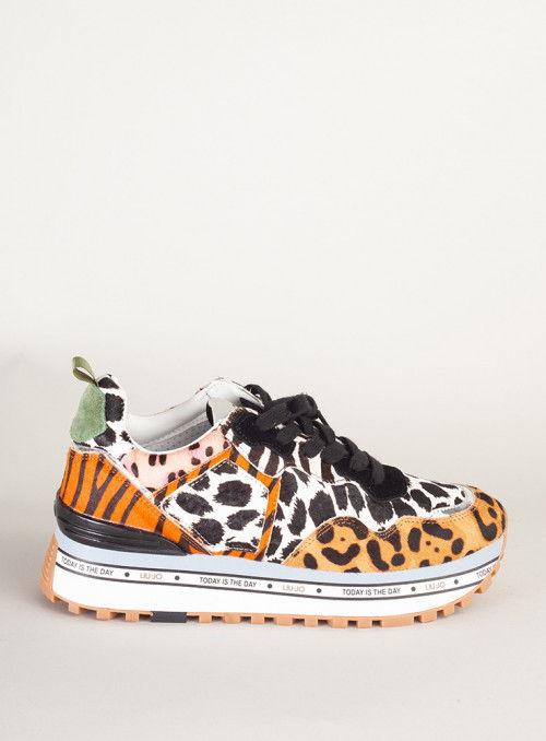 Liujo Zapatilla Estampado leopardo