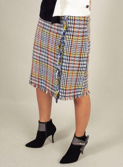 Odi Odi Falda tweed multicolor