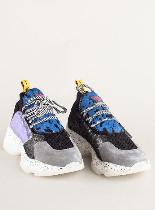 Vossochic Sneaker print azul