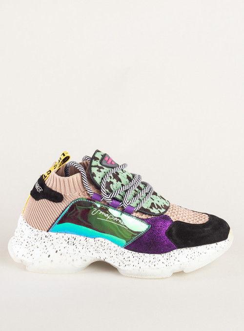 Vossochic Sneaker print verde