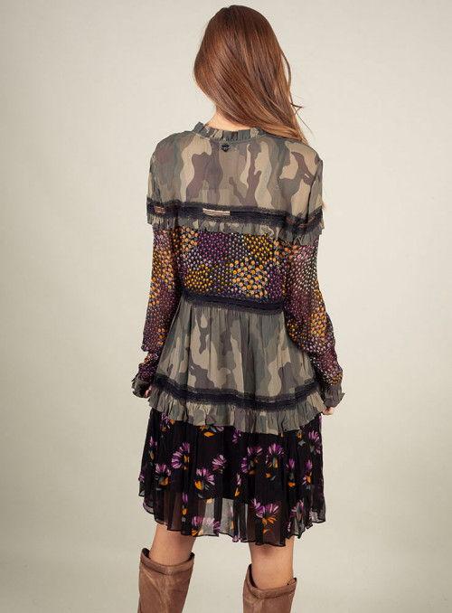 Twin Set Vestido Estampado Print