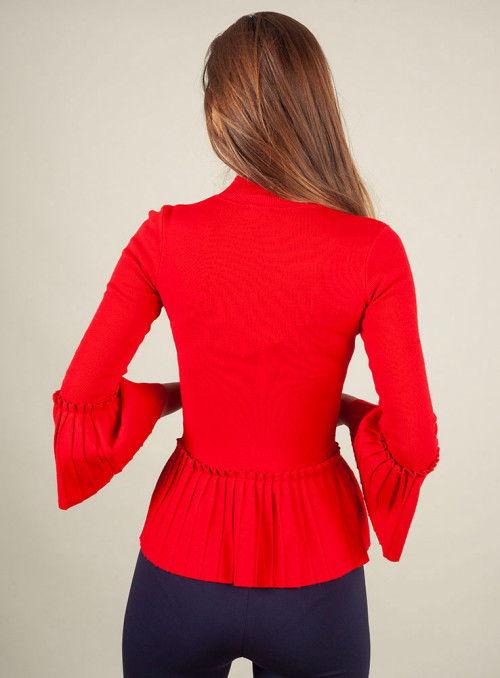 Acces Jersey Volantes Rojo