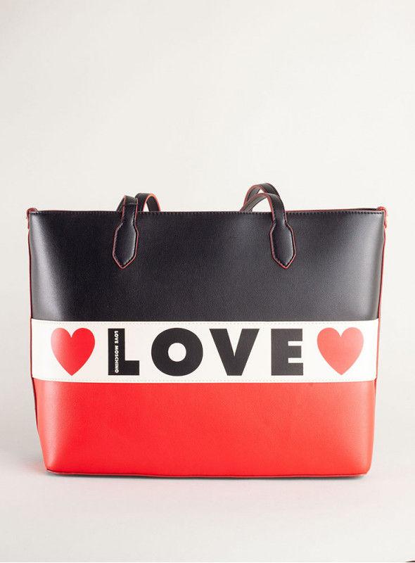 Moschino Love bolsos Bolso Shopping Love Tricolor