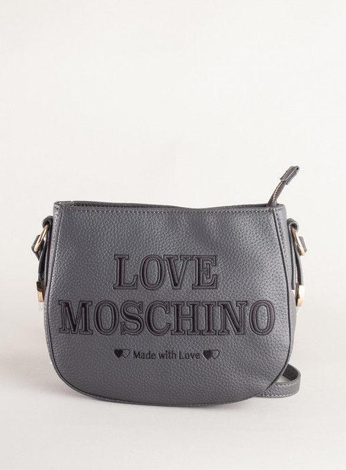 Moschino Love bolsos Bandolera Love Moschino Gris