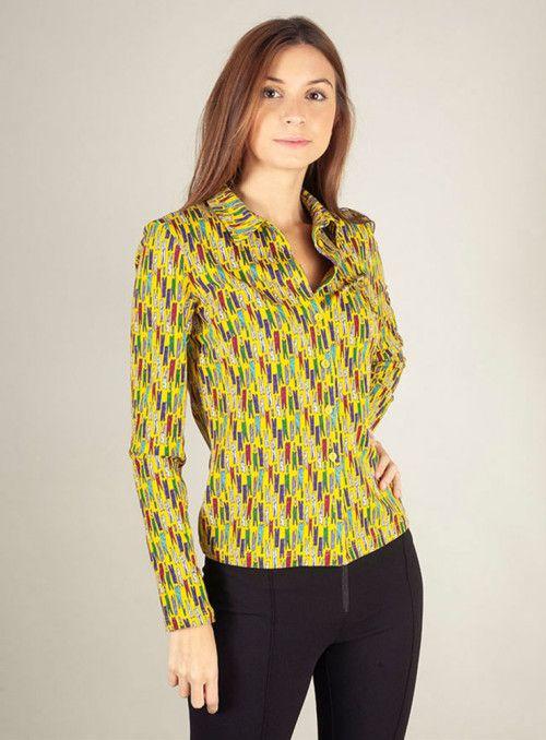 WTG Camisa pinzas multicolor