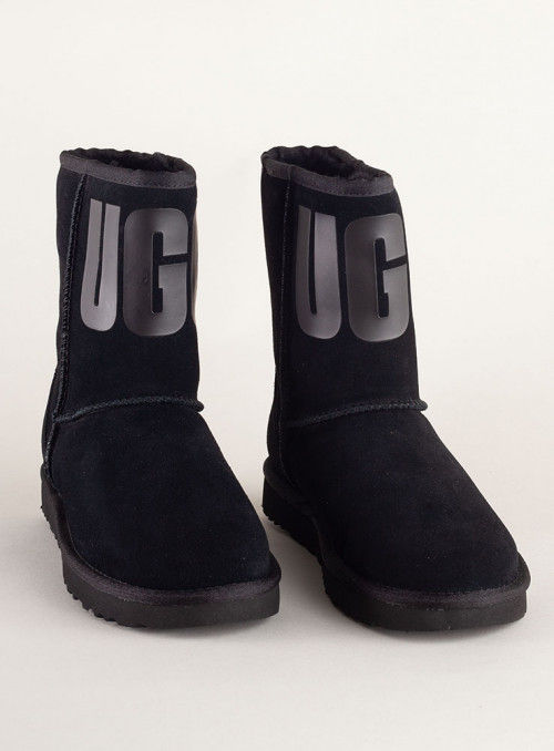 Ugg Botín Negro Logo