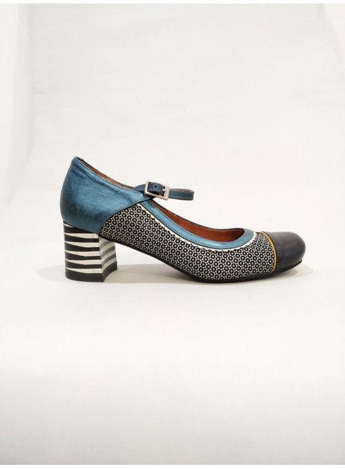 Nemonic Zapato bajo estampado