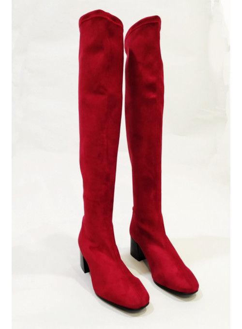 Vossochic Bota XL rojo
