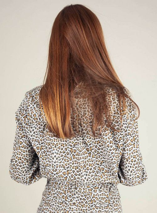 Frnch Camisa animal print