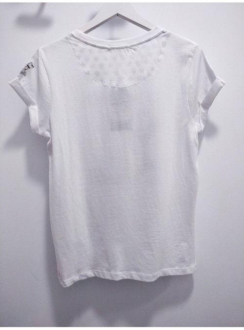 Brave Soul Camiseta blanca KARL