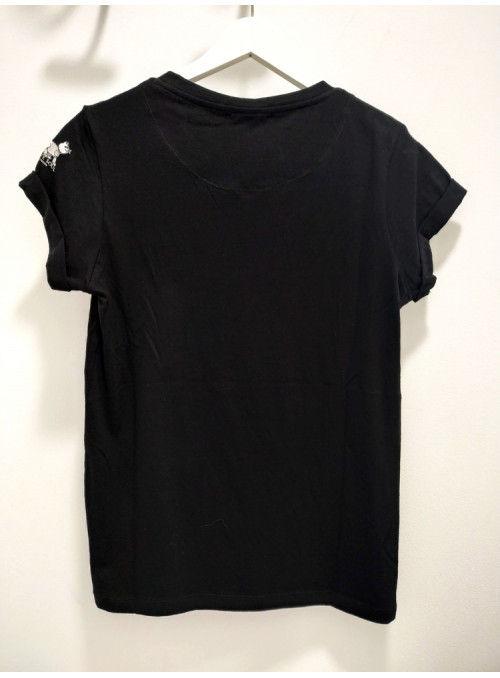 Brave Soul Camiseta negra KARL