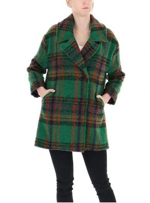 Rinascimento Abrigo verde tweed
