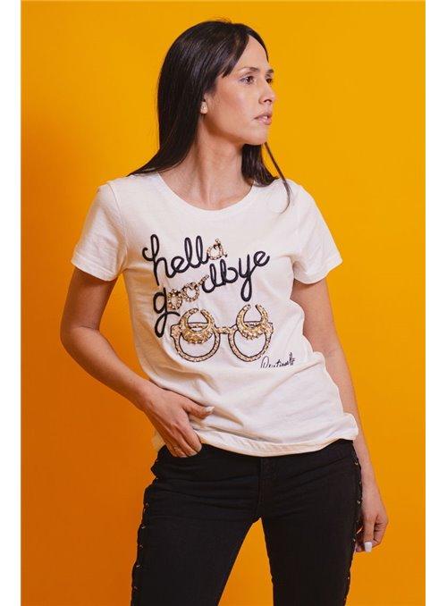 Cristina Effe Camiseta Goodbye
