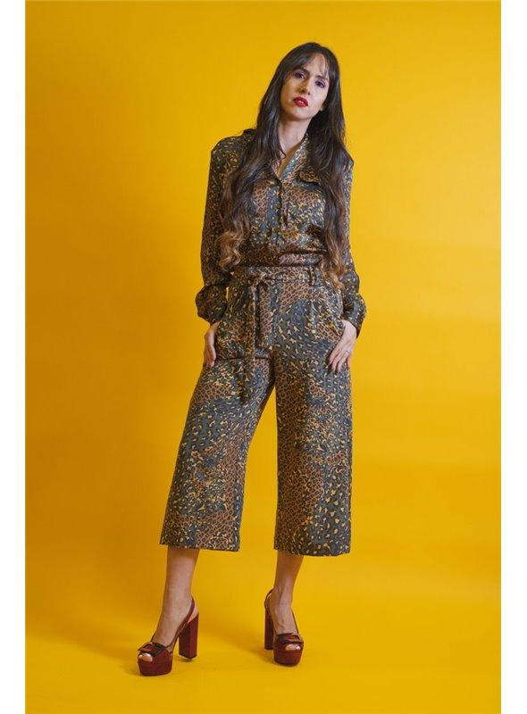 Silvian Heach Pantalón culotte print