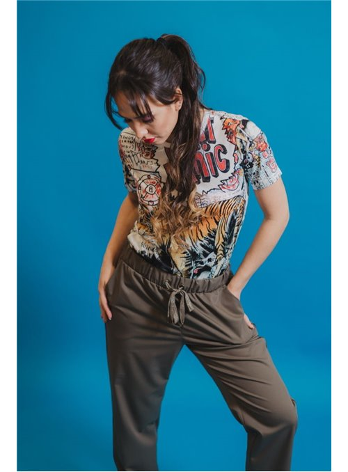Silvian Heach Camiseta tigre