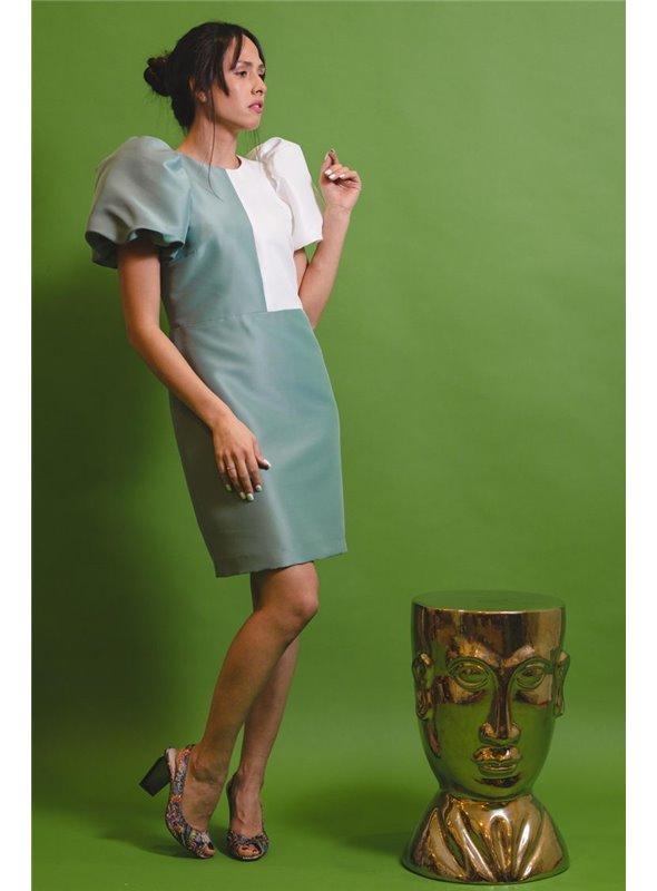Cayetanabycondes Vestido Fayna B/Verde