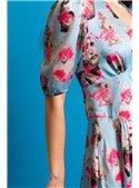 La Condesa Vestido Estampado Esculturas