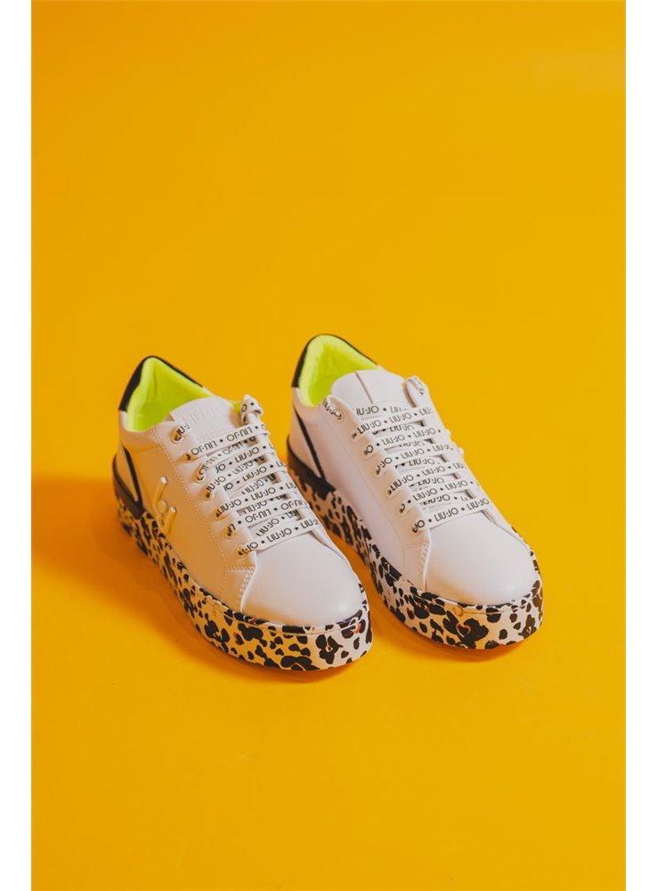 especial para zapato nuevo estilo el precio más baratas liujo zapatilla blanca suela pintada