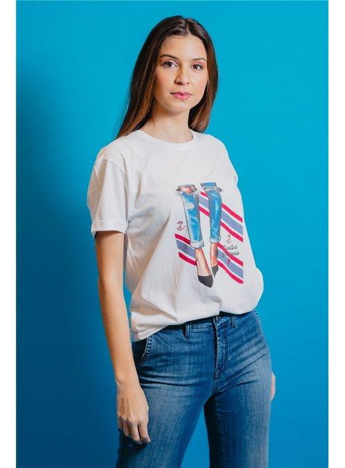TWISTER Camiseta Jeans